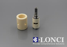 Alumina Ceramic Plungers and Pumps for Industrial and Medical Use